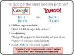 is google the best search engine