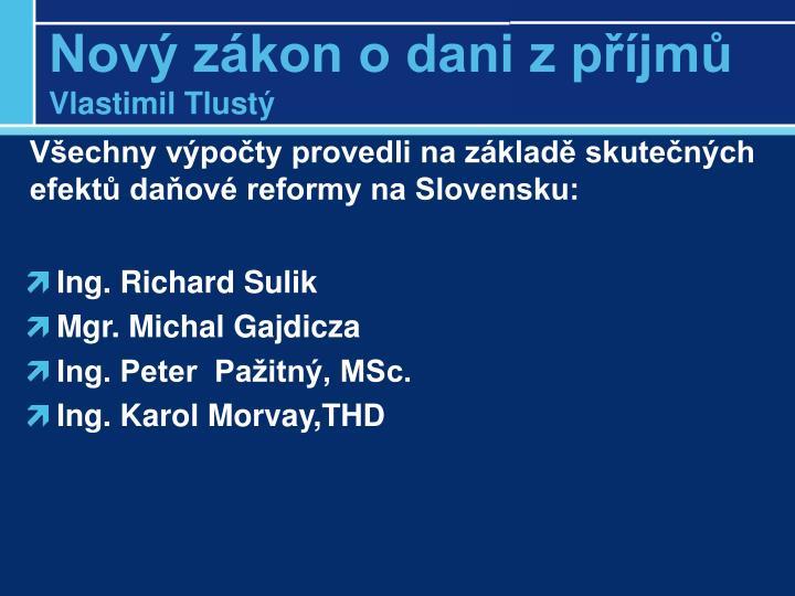 Ing. Richard Sulik