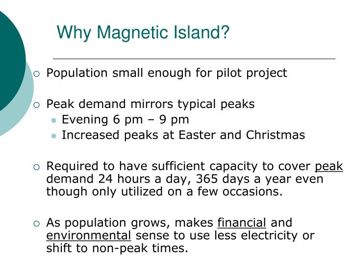 Why Magnetic Island?