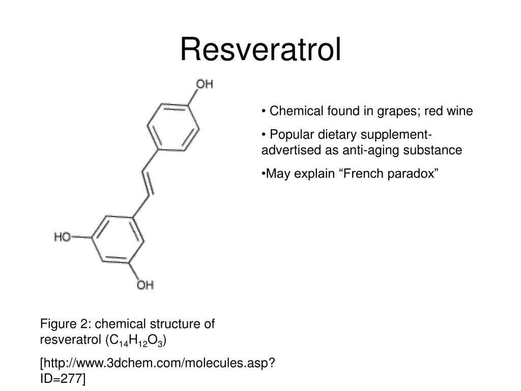Ppt Resveratrol And Decreased Fat Deposition In C Elegans