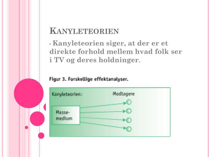 Kanyleteorien