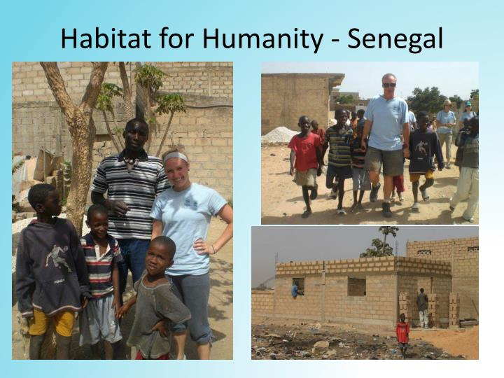 Habitat for Humanity - Senegal