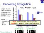 handwriting recognition1