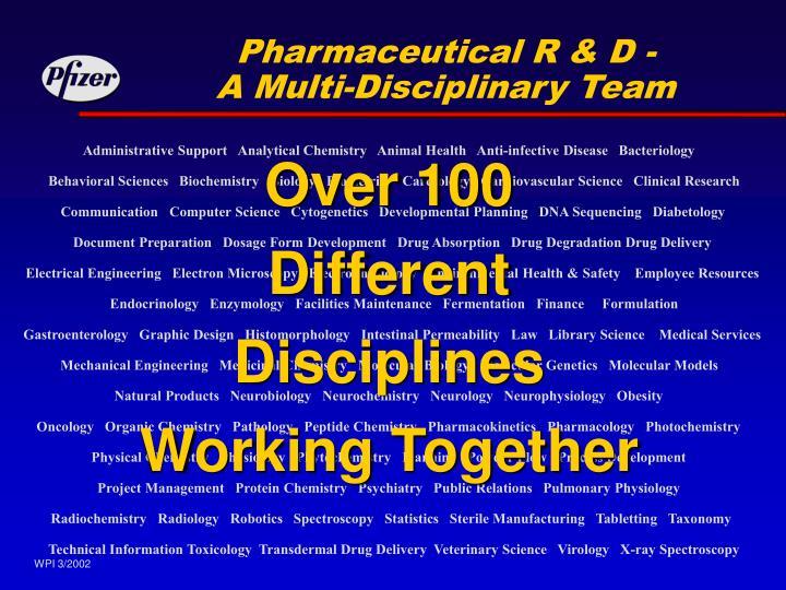 Pharmaceutical R & D -