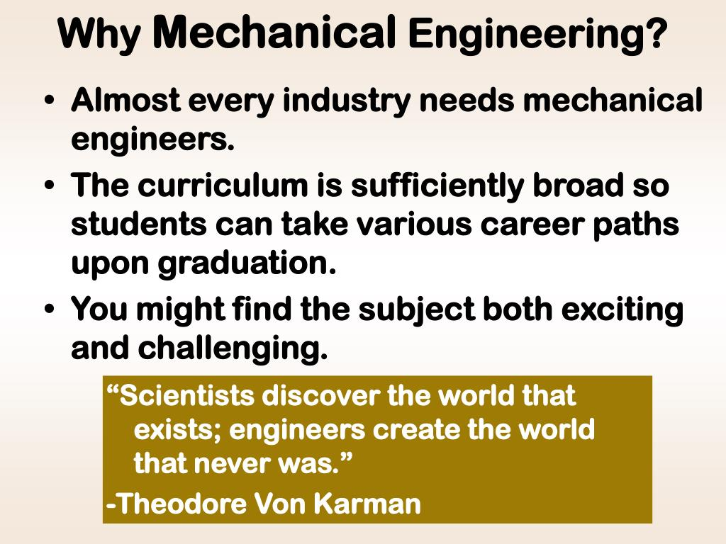 PPT - What is Mechanical Engineering? PowerPoint