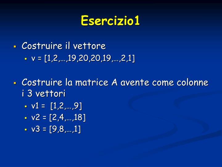 Esercizio1
