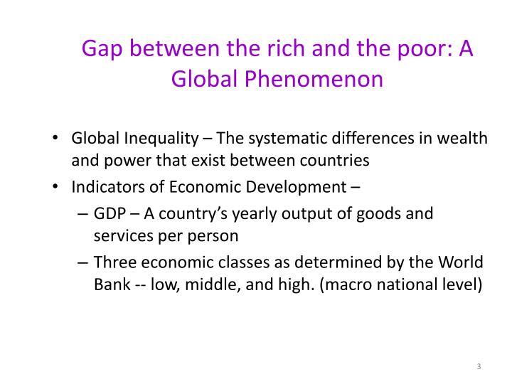 gap between rich and poor essay