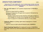 innovation component cont