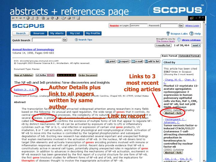 Links to 3 most recent citing articles