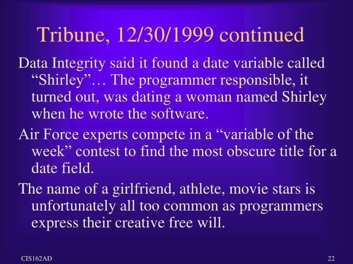 Tribune, 12/30/1999 continued