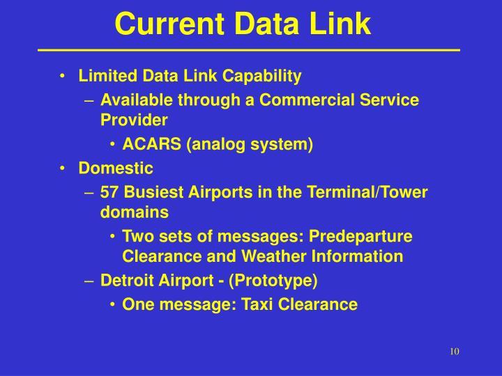 Current Data Link