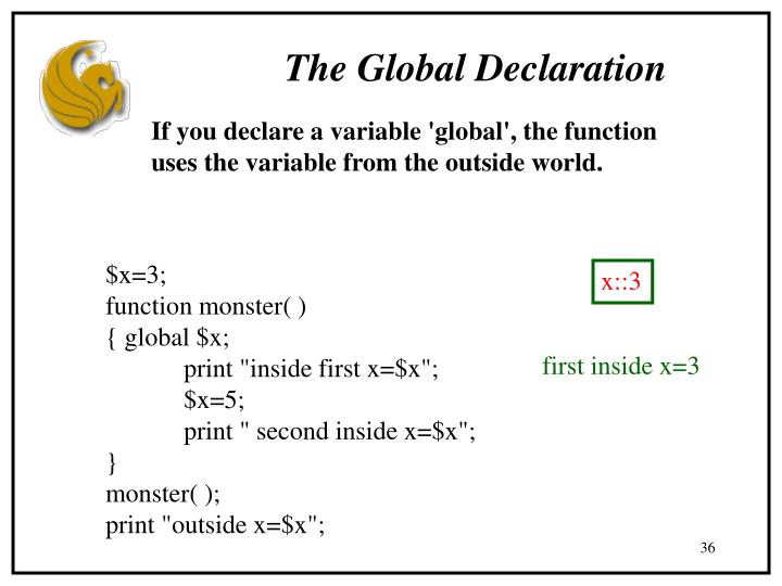 The Global Declaration