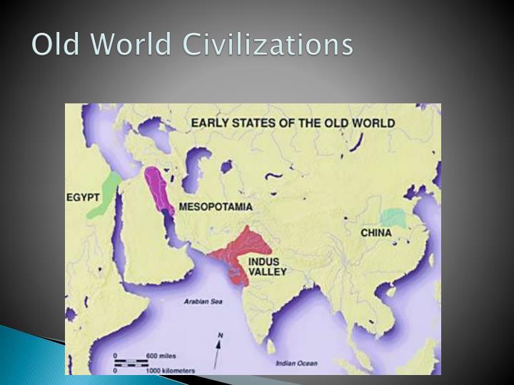 Old world civilizations