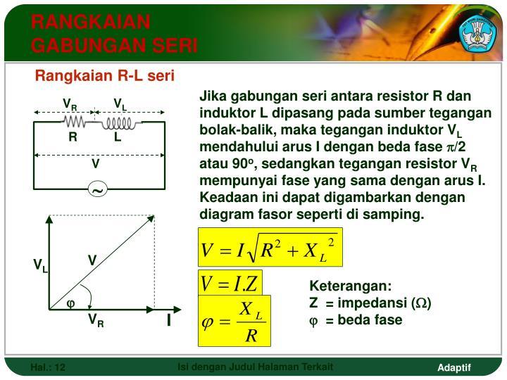 Ppt fisika powerpoint presentation id4284982 rangkaian gabungan seri ccuart Images