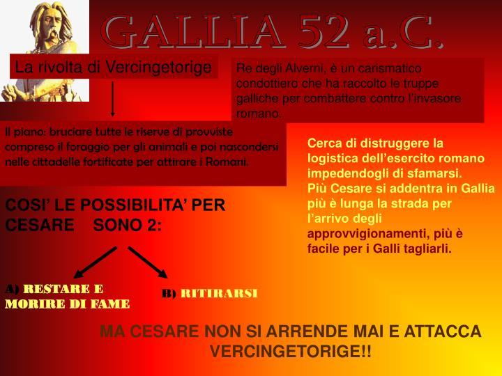 GALLIA 52 a.C.