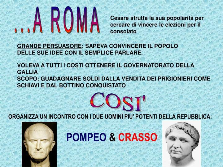 ...A ROMA