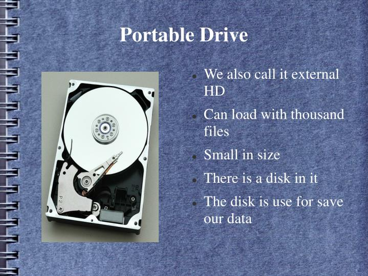 Portable drive1