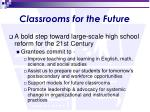 classrooms for the future1