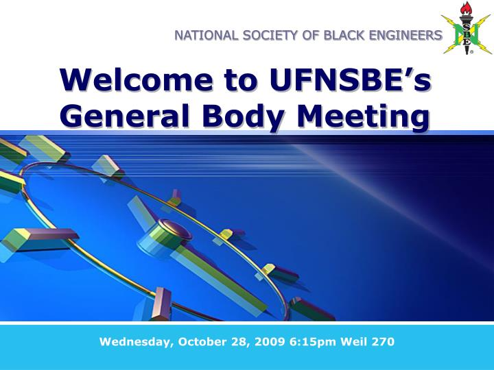 welcome to ufnsbe s general body meeting n.