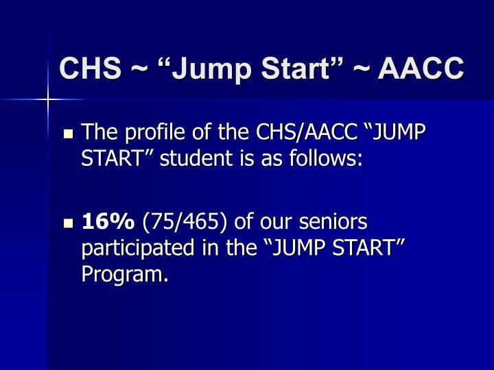 Chs jump start aacc2