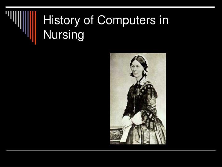 History of computers in nursing