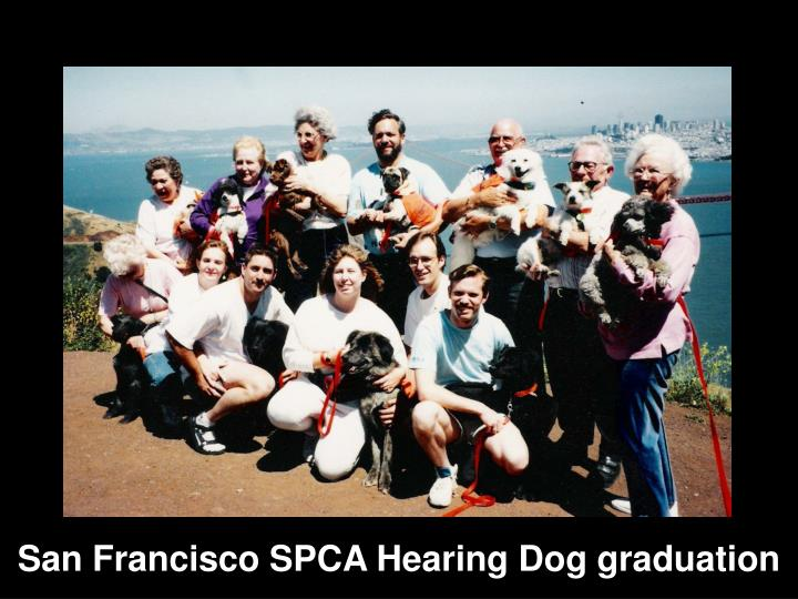 San Francisco SPCA Hearing Dog graduation