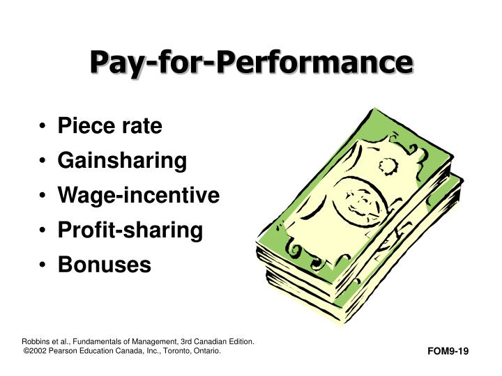 contemporary pay for performance system Pay for performance: what are the issues merit pay, performance pay, knowledge- and skill-based pay -- they are all making news as alternatives or supplements to the traditional teacher.