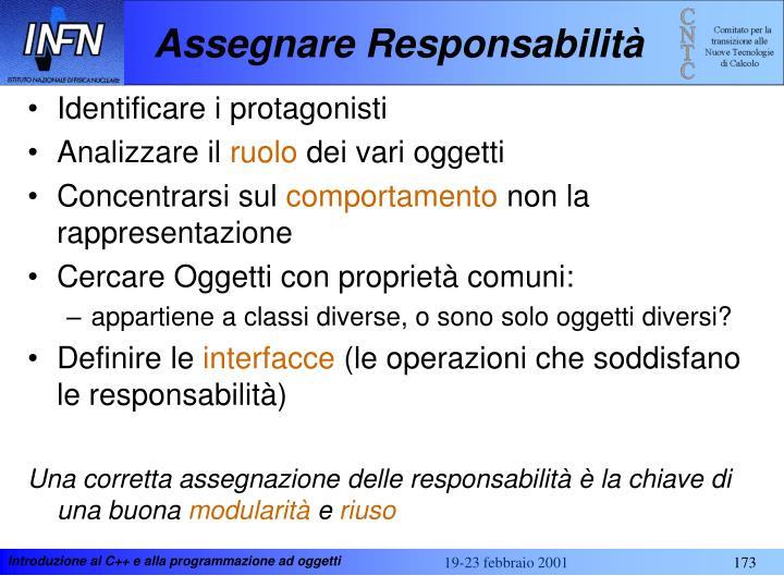 Assegnare Responsabilità