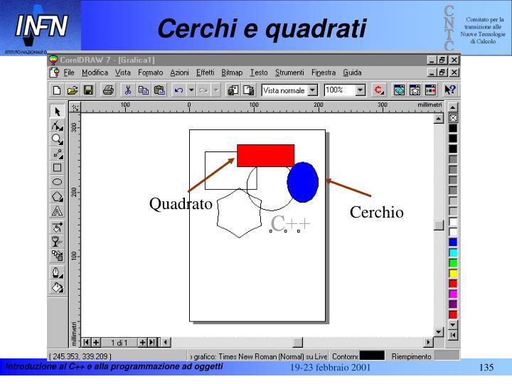 Cerchi e quadrati