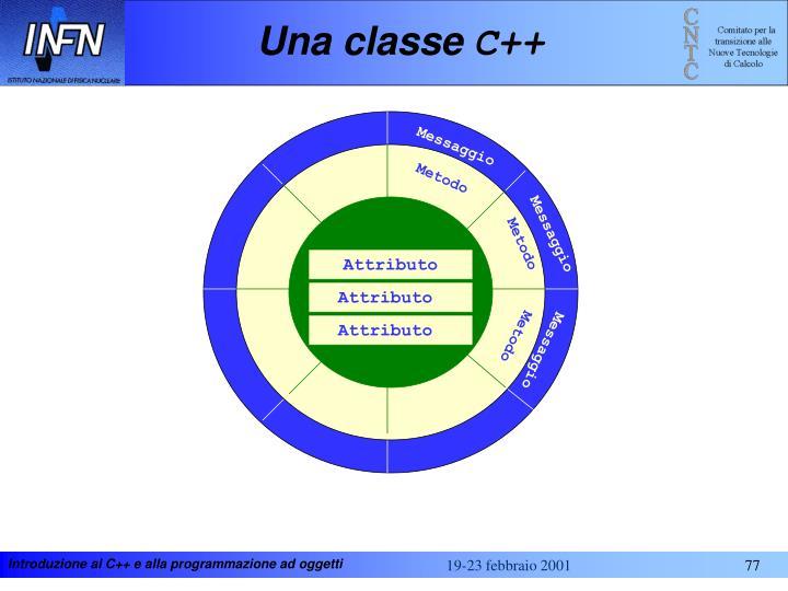 Una classe