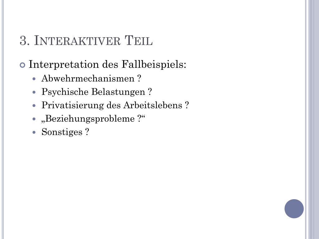 Abwehrmechanismen Freud Beispiele ppt - die psychoanalytische organisationstheorie powerpoint