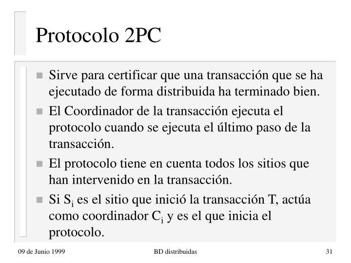 Protocolo 2PC