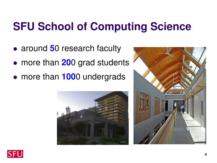 SFU School of Computing Science