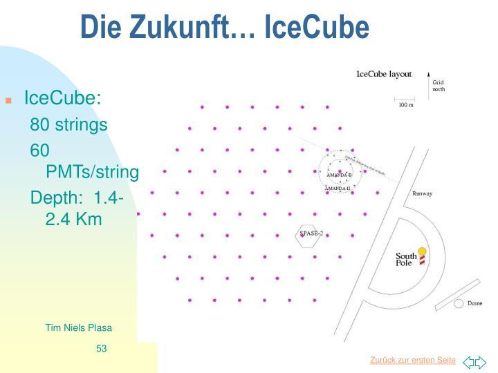 Die Zukunft… IceCube