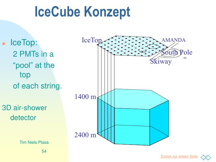 IceCube Konzept