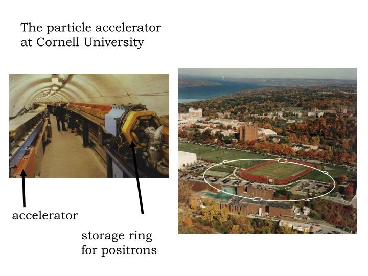 The particle accelerator