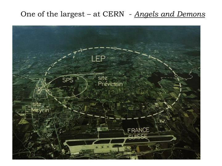 One of the largest – at CERN  -