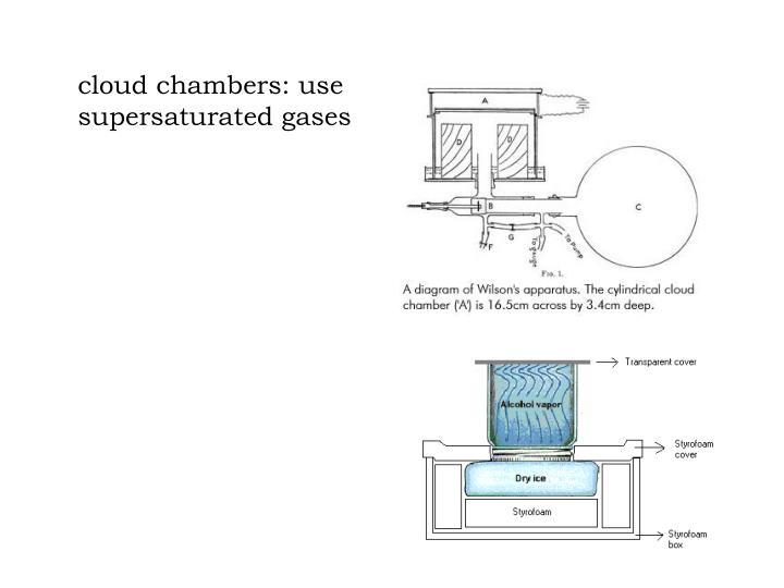cloud chambers: use