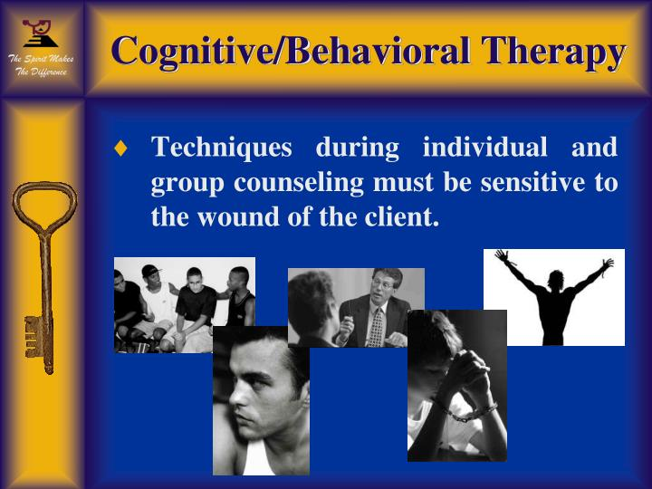 Cognitive/Behavioral Therapy