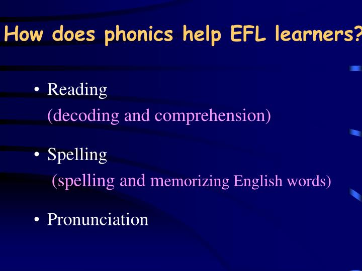 edu 371 phonics based reading decoding Effects of an animated book reading intervention on emergent literacy skill development: an early pilot study it is a proven fact that children have different learning styles and this remains true when it phonics based reading & decoding week 1 assignment ashford university edu 371 - spring 2016.
