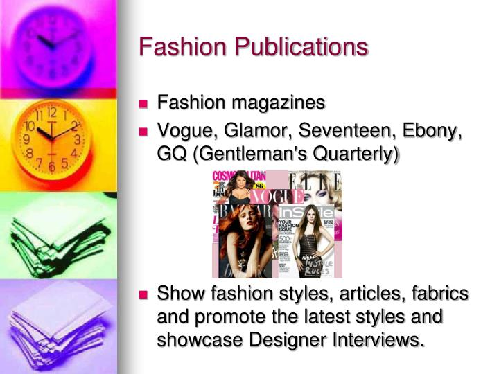 Fashion Publications
