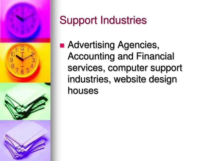 Support Industries