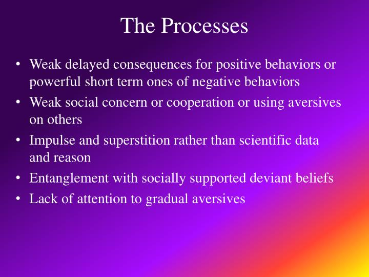 The Processes