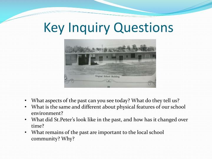 Key Inquiry Questions