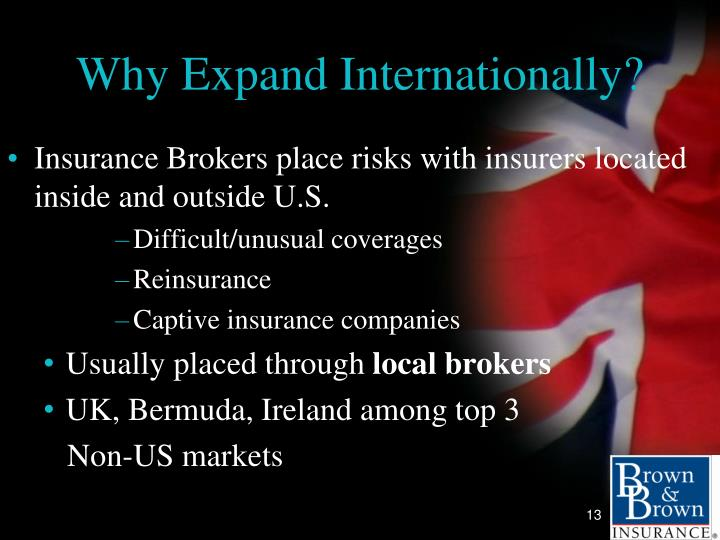 Why Expand Internationally?