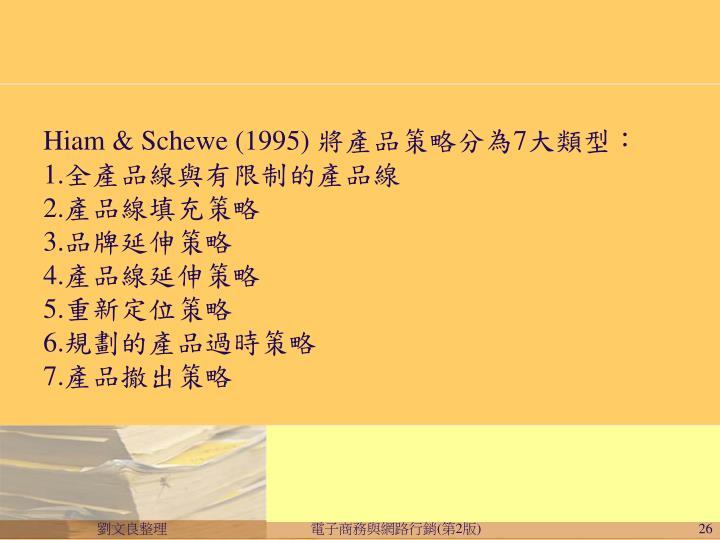 Hiam & Schewe (1995)