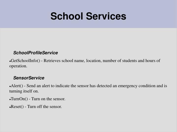 SchoolProfileService