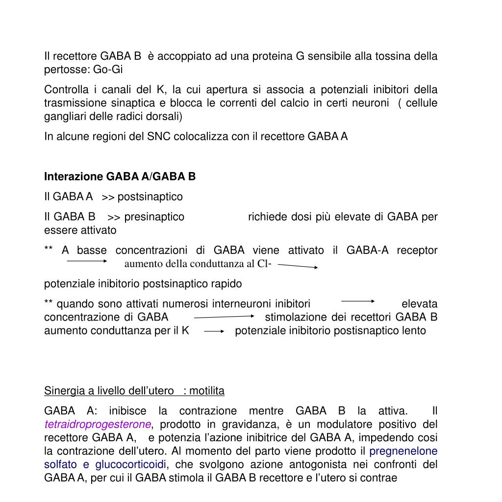 GABA GLYCINE HISTAMINE PowerPoint Presentation, Free
