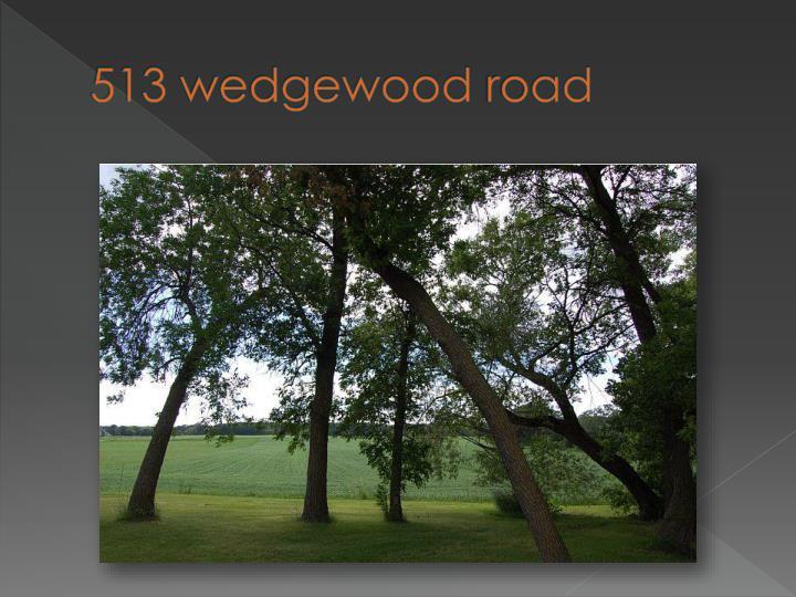 513 wedgewood road