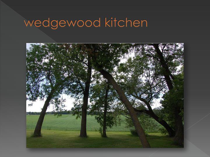 Wedgewood kitchen